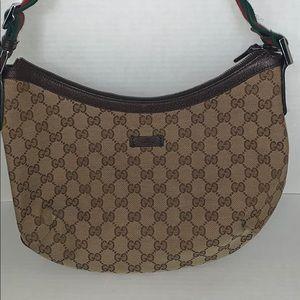 Gucci GG Monogram Canvas Crossbody Bag